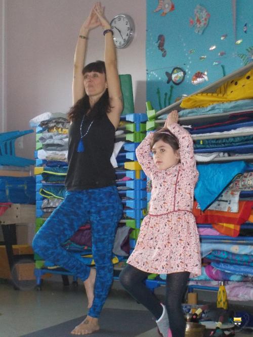MS/GS A : Le yoga à l'école